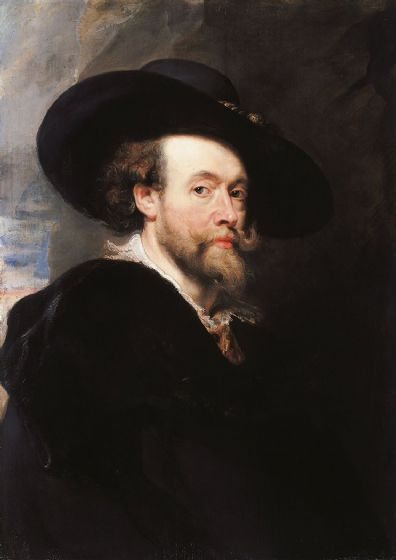 Rubens, Peter Paul: Self Portrait. Fine Art Print/Poster. Sizes: A1/A2/A3/A4 (002127)
